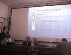 Siglato protoccolo di intesa tra la Fondazione Mediterraneo e l'Afcea - Castagna Young President - marted 30 marzo 2010